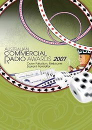 Untitled - Commercial Radio Australia