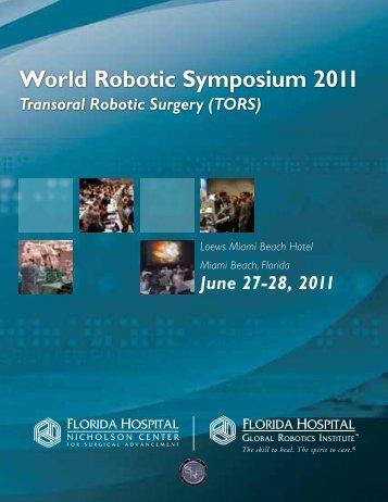 World Robotic Symposium 2011 - Hospimed CZ