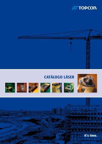 CATÁLOGO LÁSER - Topcon Positioning