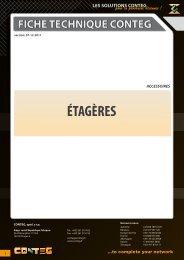 ÉTAGÈRES - Conteg