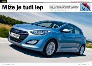 Prenesi PDF testa Hyundai i30 1.6 CVVT Premium - Avto Magazin