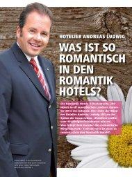 was ist so romantisch in den romantik hotels? - hoteljournal.ch