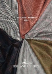 AUTUMN - WINTER 2009 - Holland & Sherry