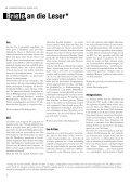 Ausgabe Nr. - Stadtgespräche Rostock - Page 4