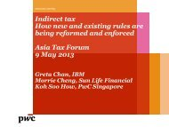 Indirect tax How new and existing rules are being reformed and ...