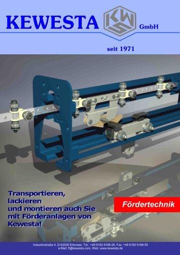 Power&Free Anlagen - Kewesta GmbH