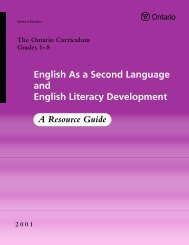 English As a Second Language and English Literacy Development