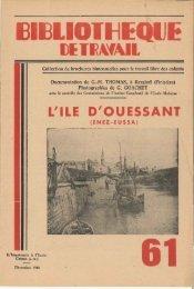 L'ILE D'OUESSANT - Icem