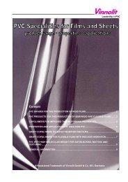 PVC Grades for the Production of Rigid Films - Vinnolit