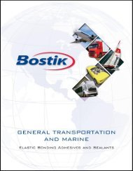 Bostik Canada - Wearing Williams Limited