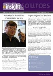 Issue 2 - September 2006 (PDF File 323.3 KB) - University of ...