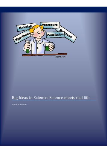 big ideas in science Earth science week starts october 14, 2012 this post has links to activities, plus the 9 big ideas in earth science learn more on earthsky.
