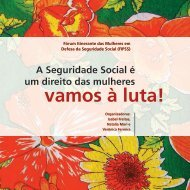 A Seguridade Social é um direito das mulheres - Instituto de ...