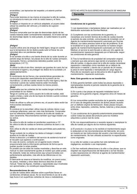 Descargar Manual (0,55 MB) - Ortopedia Mimas
