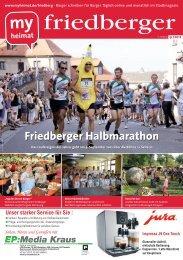 Friedberger Halbmarathon - MH Bayern