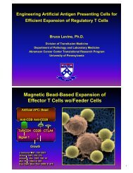 Engineering Artificial Antigen Presenting Cells for Efficient ...