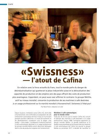 — l'atout de Cafina