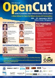 mine planning and operational excellence