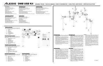 DM8 USB Kit - Assembly Guide - RevA - Alesis