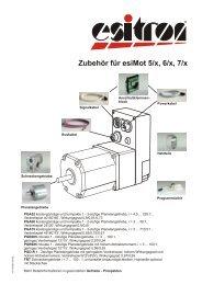 Zubehör für esiMot 5/x, 6/x, 7/x - esitron