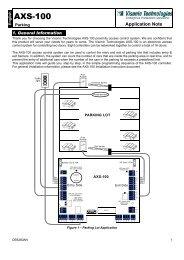 AXS-100 - Visonic Technologies