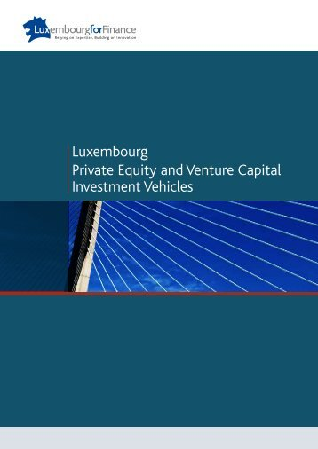 Luxembourg Private Equity and Venture Capital Investment ... - Alfi