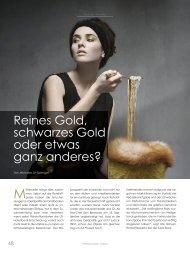 Reines Gold, schwarzes Gold - SOLIT Kapital GmbH