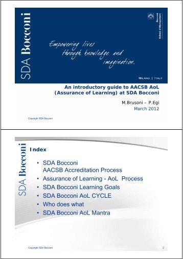Download Document - SDA Bocconi