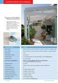 Die Wintergarten-Markise als perfekter Schattenspende - Haller ... - Page 6