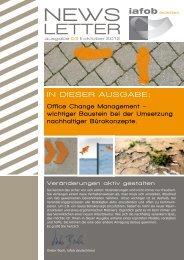 Office Change Management – 03/2012 - iafob deutschland