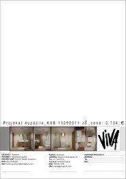 Da pogledate glavni projekat kupatila KAB13112011JC ... - Akvabutik