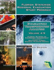 Volume 4: Evacuation Transportation Analysis - Southwest Florida ...