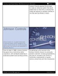 Johnson Controls - Day