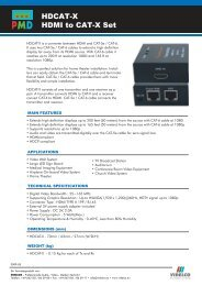 HDCAT-X HDMI to CAT-X Set - VIDELCO