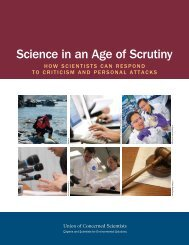 Science in an Age of Scrutiny (2012) - Union of Concerned Scientists