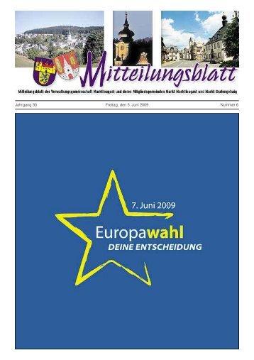 Kirchliche Nachrichten des Evang. - Marktleugast
