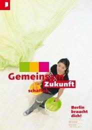 Berlin braucht dich! - Katrin Schek kursiv Kommunikationsdesign
