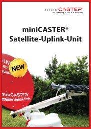 miniCASTER® Satellite-Uplink-Unit - VIDELCO
