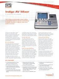 Indigo AV Mixer - DS Video