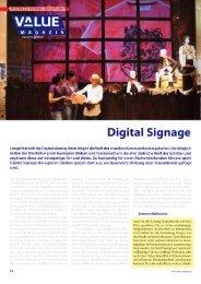 Digital Signage (u.a. KeyWest MediaXtreme) - VIDELCO