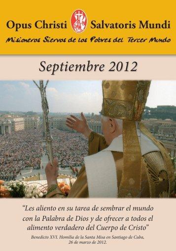 Septiembre 2012 - Misioneros Siervos de los Pobres del Tercer ...