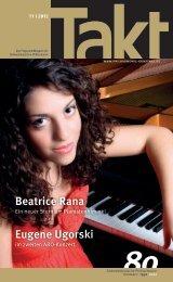 Beatrice Rana - Südwestdeutsche Philharmonie Konstanz