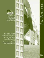 novembre 2005 - Ordre des évaluateurs agréés du Québec