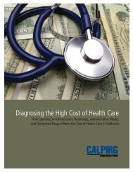 Diagnosing the High Cost of Health Care - Frontier Group