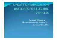 G E Bl George E. Blomgren Blomgren Consulting Services Ltd. L k d ...