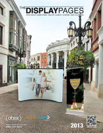 DisplayPages Catalog - Zippa Displays