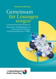 Gemeinsam für Lösungen sorgen - Fachkräfteinitiative NRW