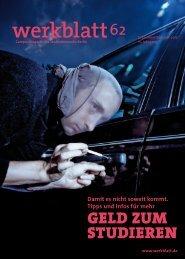 GELD ZUM STUDIEREN - Studentenwerk Berlin