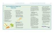 Die 10 praktischen Regeln der Kreta-Kost
