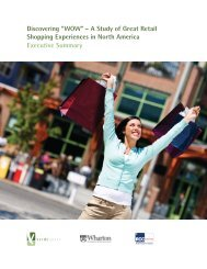 """Discovering """"WOW"""" – A Study of Great Retail ... - Verde Group"""